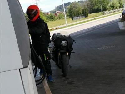 Le prime foto spia della Bimota KB4 su strada!