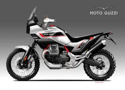 Moto Guzzi V90 TTR, sorella maggiore della V85 TT
