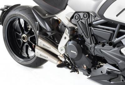 HP Corse Hydroform Short R per Ducati Diavel 1260