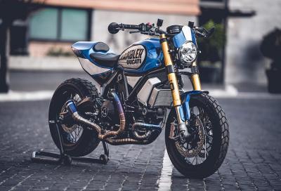 Eletta la moto vincitrice di Ducati Custom Rumble 2020