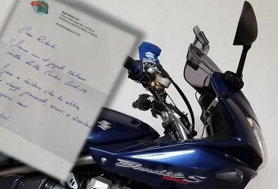 """Ordina online dei riser per la moto e riceve… """"qualcosa in più"""""""