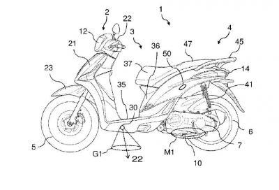 """Piaggio brevetta """"luci di cortesia"""" per moto e scooter"""