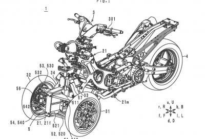 Yamaha al lavoro su un TMax a 3 ruote