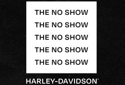 """""""The no show"""", Harley-Davidson presenta il proprio salone online"""