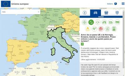 Re-open EU, per pianificare viaggi sicuri in tutta Europa