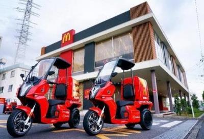 McDonald's AA Cargo, scooter elettrico a tre ruote dal gusto italiano