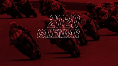 Riparte anche la SBK! Ecco il nuovo calendario 2020