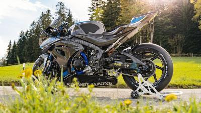 Dalla Svizzera, una Suzuki GSX-R1000R in carbonio