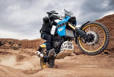 Nuova Yamaha Ténéré 700 Rally Edition, un tuffo nella storia della Dakar