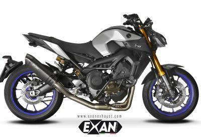 Nuovi scarichi omologati per Yamaha MT-09 da Exan