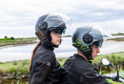 Metropole, il nuovo casco demi-jet di Hevik