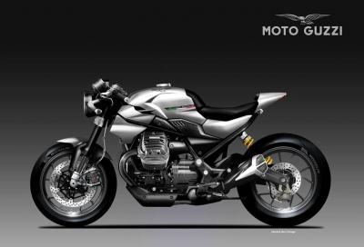 Moto Guzzi Silver Eagle, muscle naked di Mandello