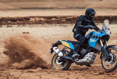 Nel deserto con la nuova Yamaha Ténéré 700 Rally Edition