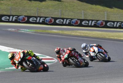 Savadori leader in SBK, bella doppietta di Zannoni