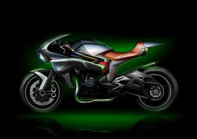 "Kawasaki brevetta un 4 cilindri 2T ""turbo"""