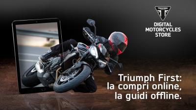 """""""Raddoppiano"""" le concessionarie Triumph"""