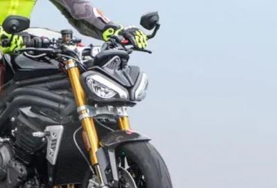 Look affilato e più potenza: la nuova Speed Triple 1150 sarà così
