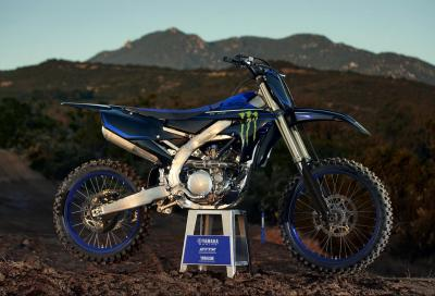 La nuova Yamaha YZ250F e le Monster Energy Edition 2021