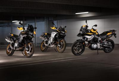 BMW presenta le nuove F 750 GS, F 850 GS e F 850 GS Adventure