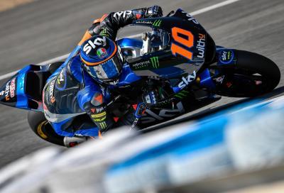 Luca Marini scappa e vince a Jerez
