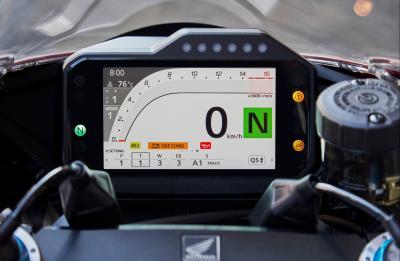Su Honda.it il simulatore della strumentazione della Fireblade