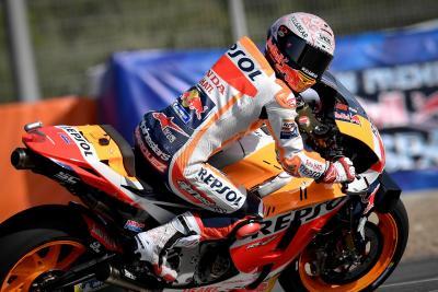 Marquez incredibilie: in viaggio verso Jerez per correre