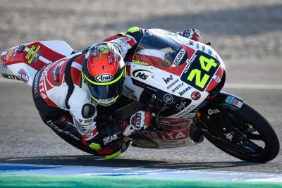 Moto3: terza pole di fila per Suzuki