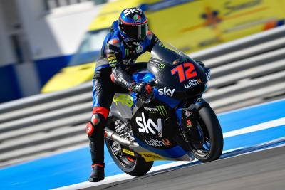 Bezzecchi il più veloce nelle qualifiche del GP di Andalusia