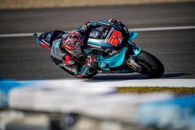 Quartararo re di Jerez, Rossi sul podio