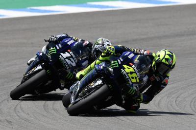 """Viñales: """"Dietro Rossi ero senza fiato, non respiravo"""""""