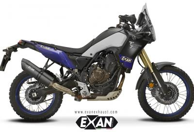 Scarichi aftermarket Exan per Yamaha Tènèrè 700