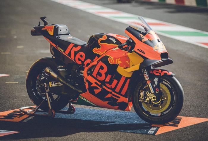 In vendita due KTM MotoGP RC16. Proibitivo il prezzo