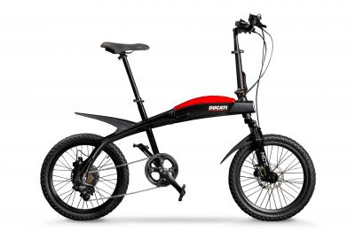 Ducati presenta tre nuove e-bike pieghevoli