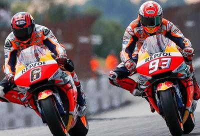 Marquez out, Bradl al suo posto a Brno