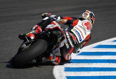 La Honda di Nakagami al top nelle FP1 di Brno