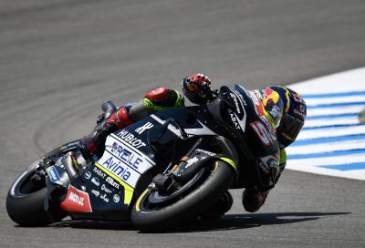 Zarco porta la Ducati in pole a Brno, Dovizioso in difficoltà