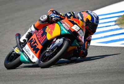 Fernandez conquista la pole position a Brno, la sua prima in carriera