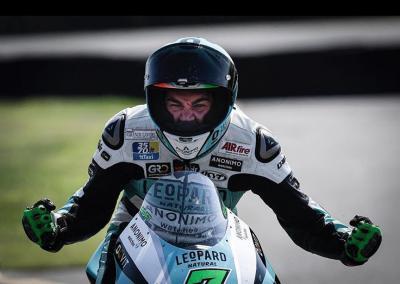 A Brno Dennis Foggia centra la sua prima vittoria