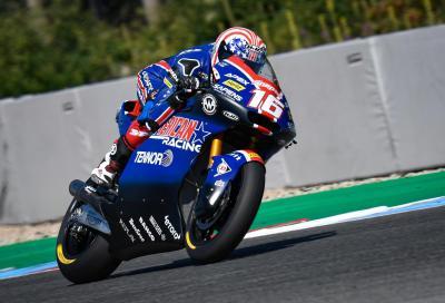 Miglior tempo per Joe Roberts nelle qualifiche Moto2 di Brno
