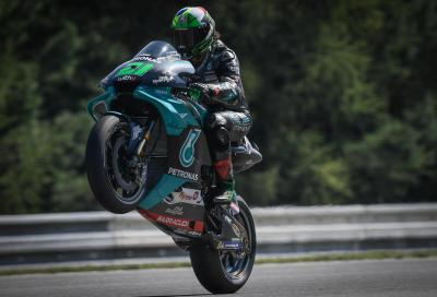 Morbidelli il più veloce nelle FP3 di Brno