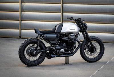 Moto Guzzi V7 Café Racer, ecco la Vagabund V14