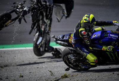 """Rossi: """"Zarco l'ha fatto apposta, va punito"""""""