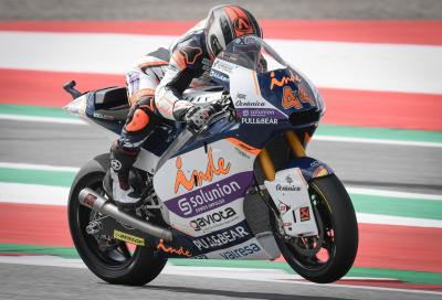 Al Red Bull Ring Canet conquista la prima pole Moto2 in carriera
