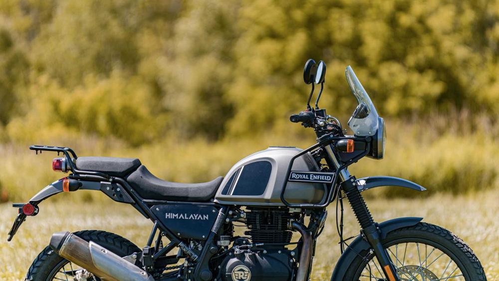 ROYAL ENFIELD HIMALAYAN LAKE BLUE EURO 5 - Scuderia Moto