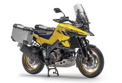 Suzuki presenta la nuova V-Strom 1050 XT PRO