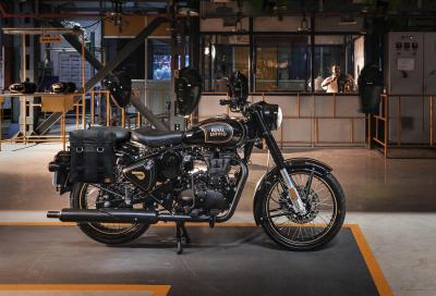 Royal Enfield Classic Tribute Black, omaggio all'iconico monocilindrico di 500 cc