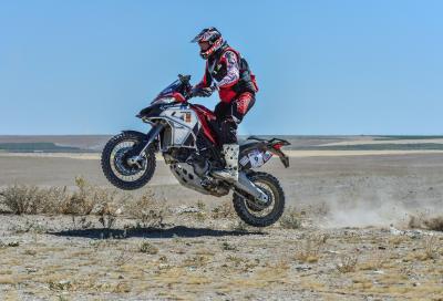 La Ducati Multistrada 1260 Enduro trionfa al Transanatolia Rally 2020