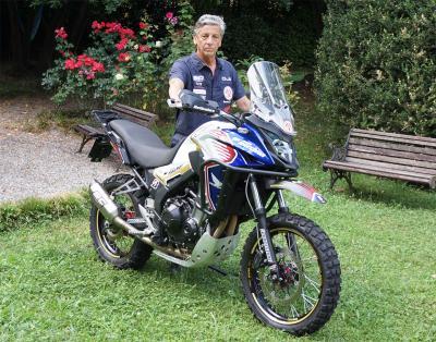 Renato Zocchi e Honda insieme per gli eventi adventouring 2020