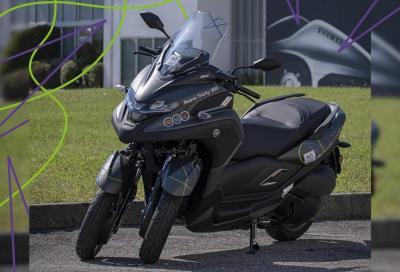 Yamaha Tricity 300 scooter ufficiale del Giro-E
