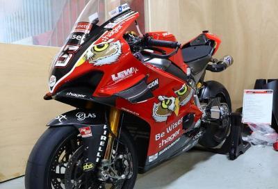 All'asta la Ducati Panigale V4 R BSB di Scott Redding